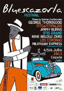 Festival Blues Cazorla BluesCazorla 2013