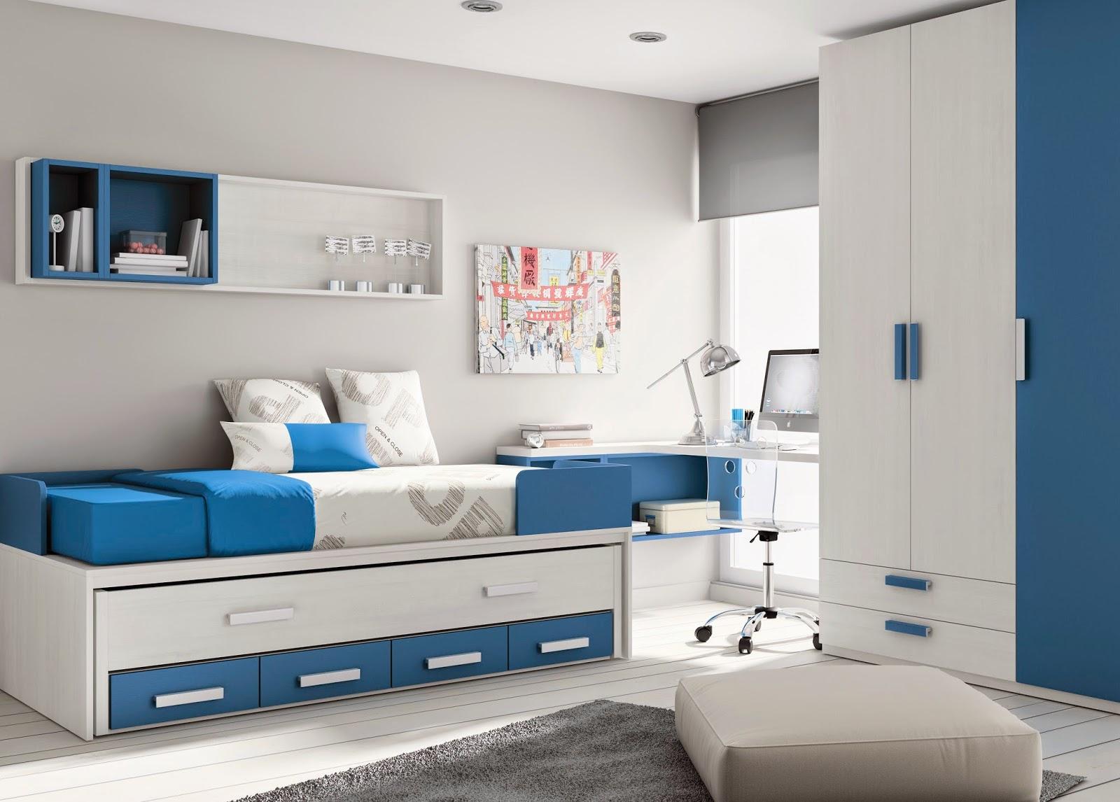 Nuevas camas nidos y compactas de muebles ros for Habitaciones compactas