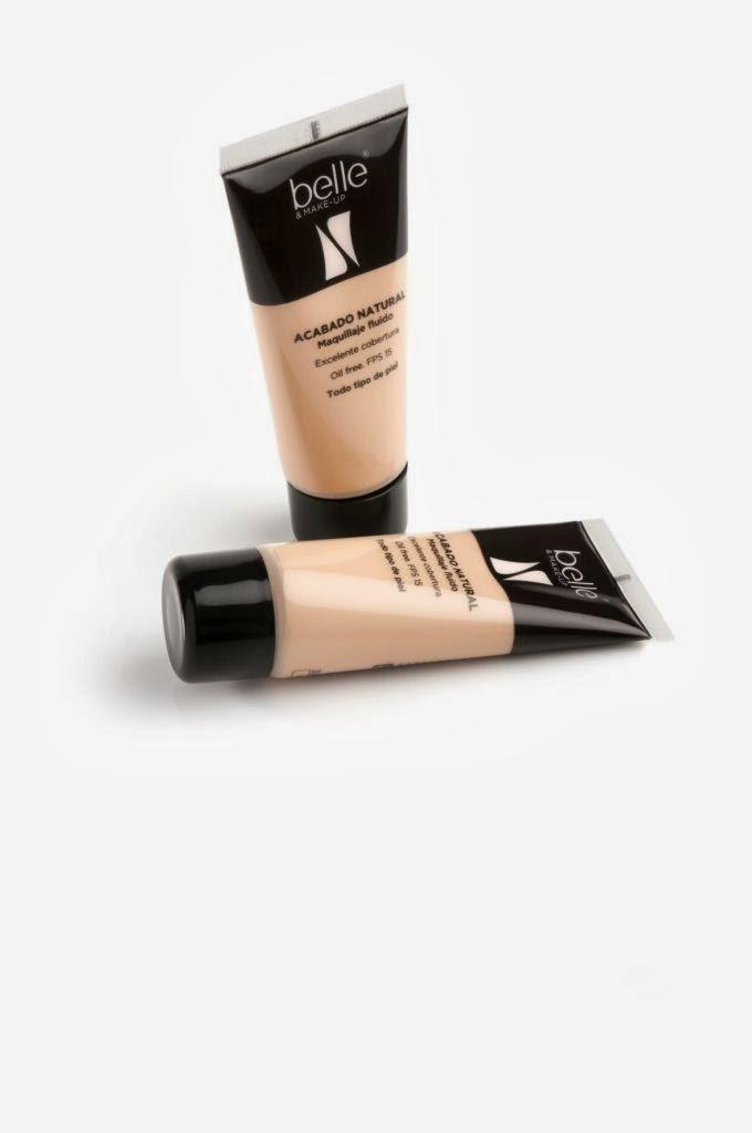 Maquillaje fluido acabado natural belle&MAKEUP