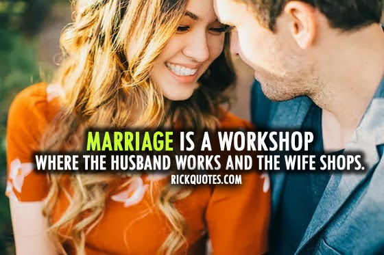 Couple love hug laugh Quotes Marriage Is A Workshop