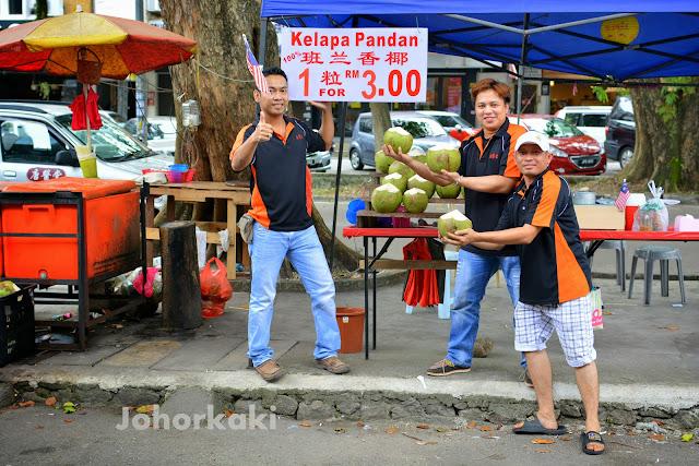 Johor-Coconut-Lorry-Taman-Pelangi