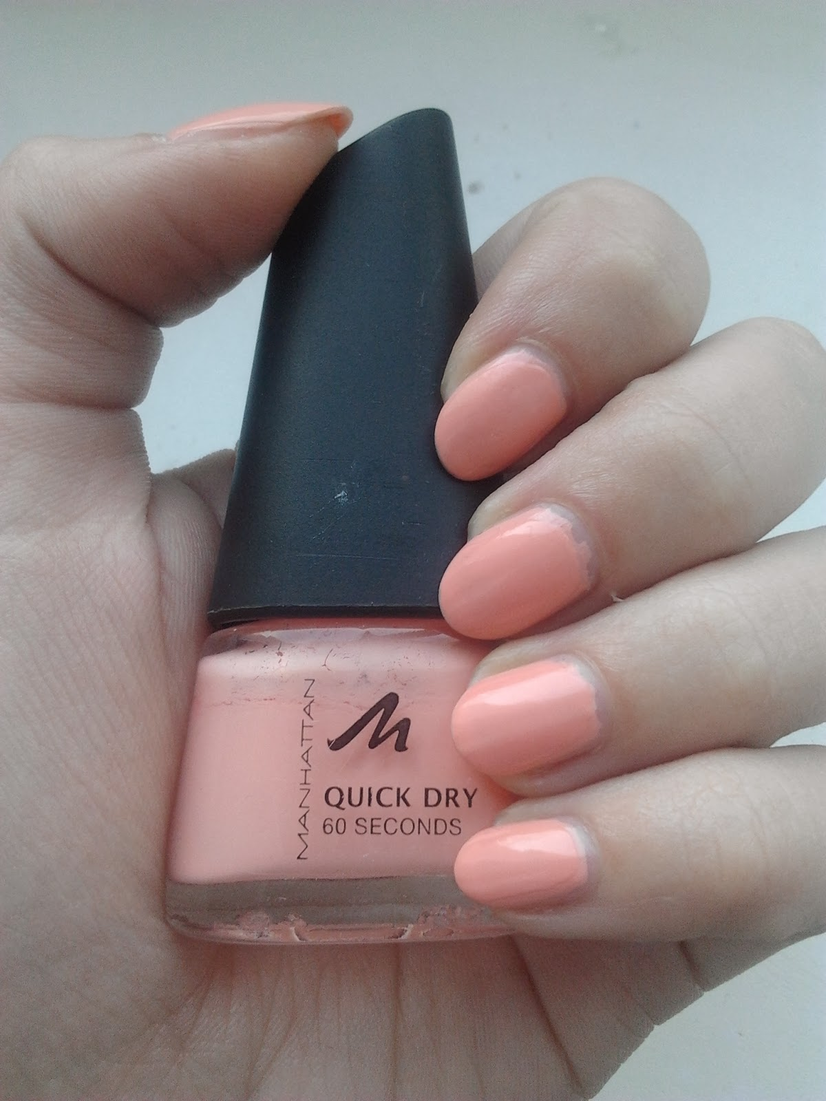 Manhattan Quick Dry 60 Seconds Nail Polish 11b - Creative Touch