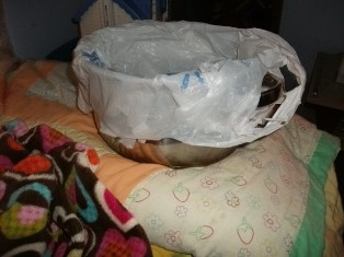 Kitchen pot for nausea
