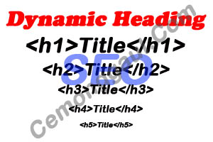 Cara membuat dynamic heading agar SEO friendly