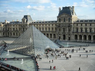 The Louvre museum, Paris