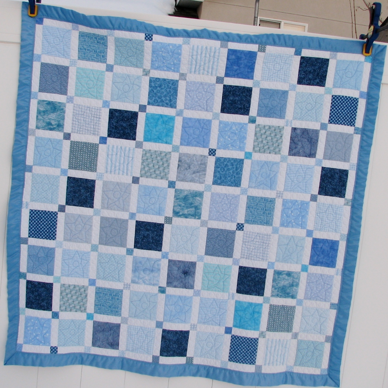 Such a Sew and Sew: Quilts : blue baby quilt - Adamdwight.com