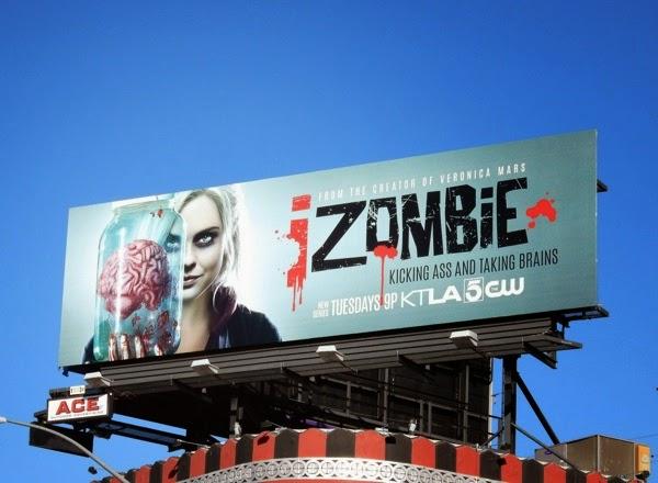 iZombie series premiere billboard