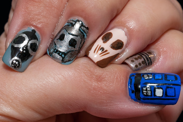 Doctor Who nails The Empty Child Cybermen Silent Dalek Tardis