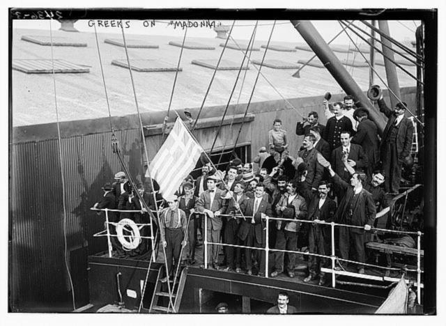 Image result for έλληνες προς αμερική 1920