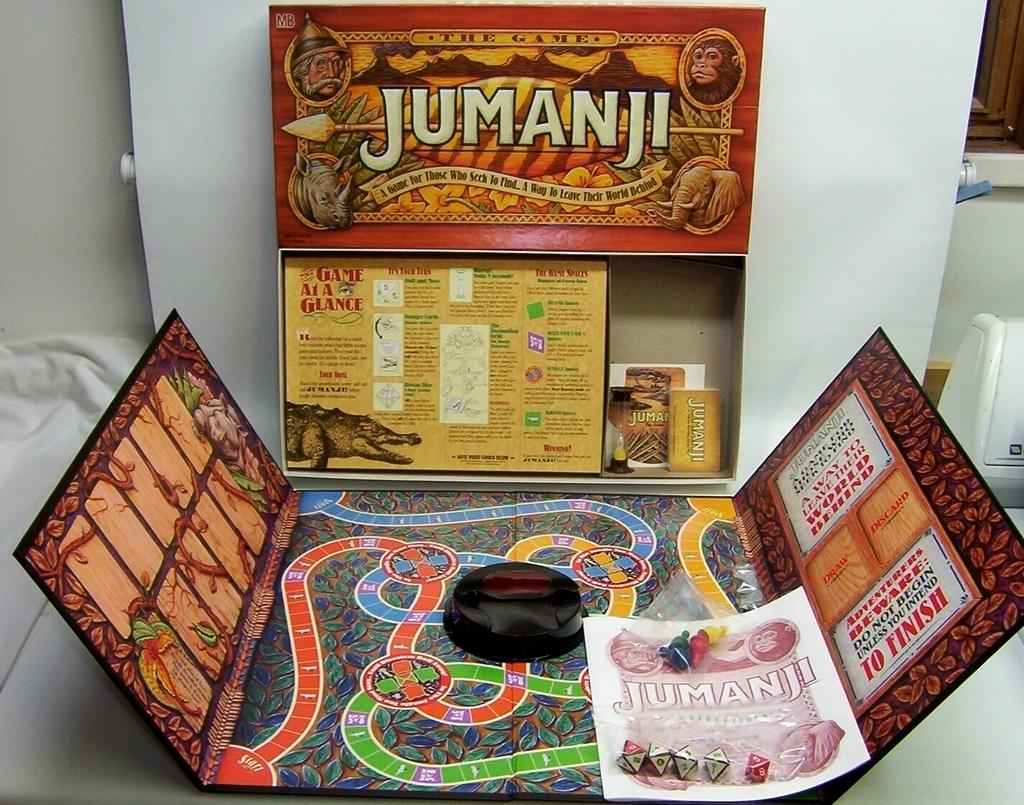 Vetust games jumanji giochi sul nostro tavolo - Jumanji gioco da tavolo ...