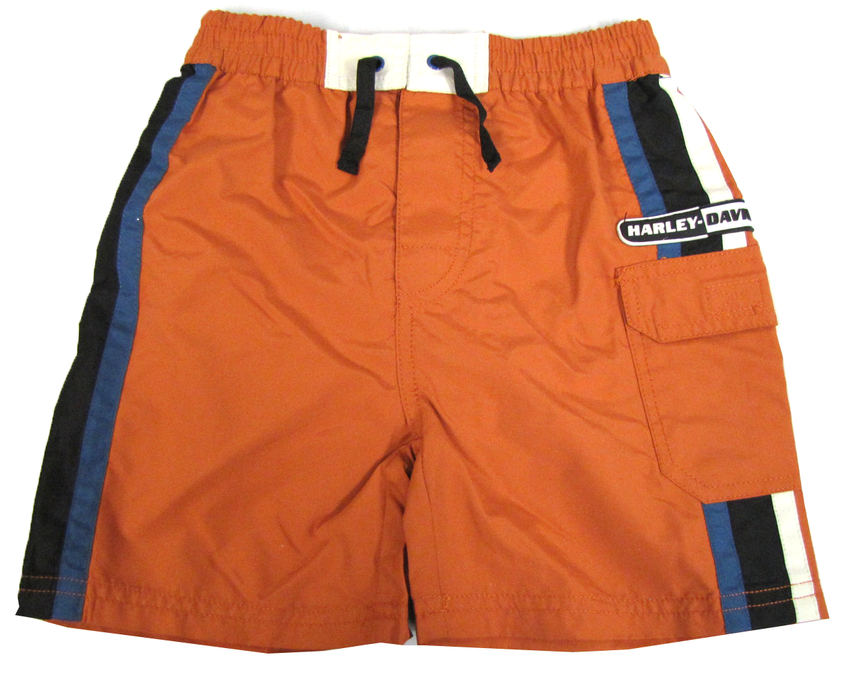 http://www.adventureharley.com/harley-davidson-boys-swim-trunks-orange