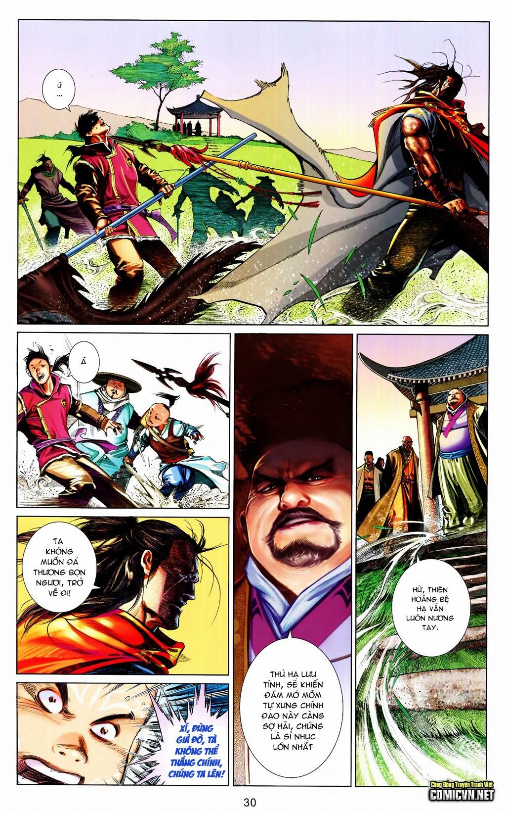 Phong Vân Chap 663 - Trang 30