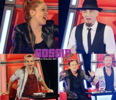 Squadre The Voice 2015