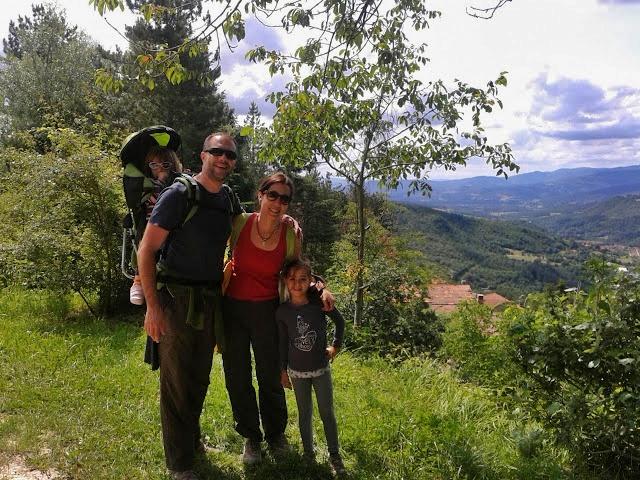 Disfrutando de la Naturaleza en familia
