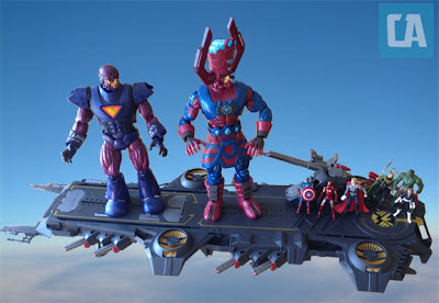 Sentinel, Galactus, SDCC, Helicarrier, SHIELD