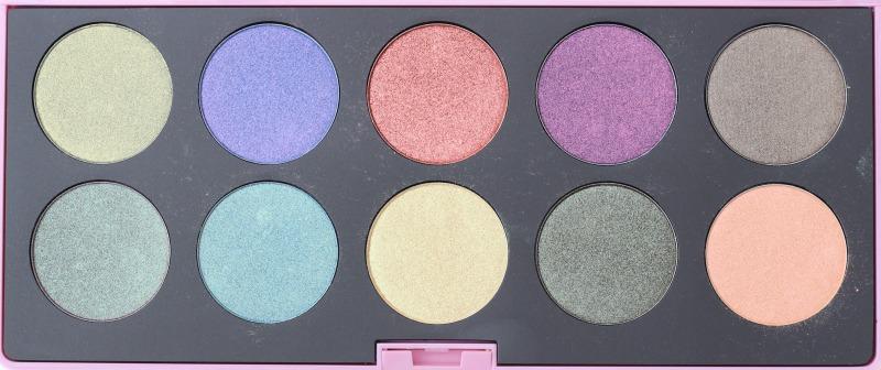 Neve Duochrome palette shadows