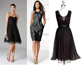 fotos de vestidos pretos