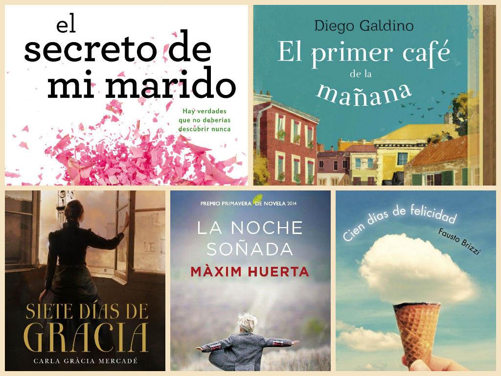 5 ideas de libros para leer en Abril