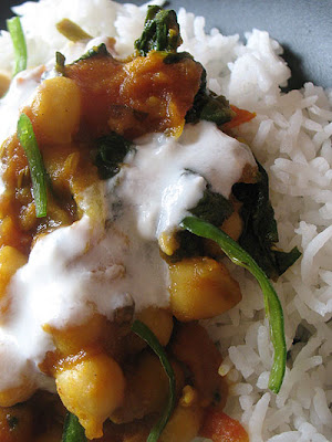 Tamarind Chickpeas