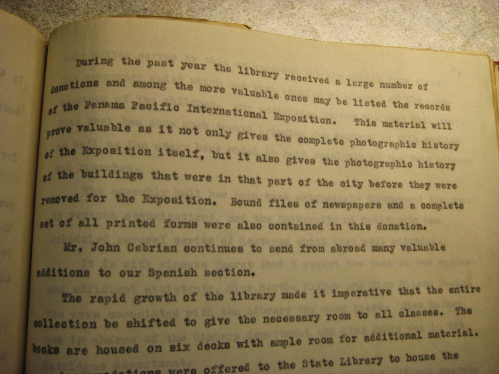 San Francisco Public Library Annual Report for 1924, San Francisco Public Library