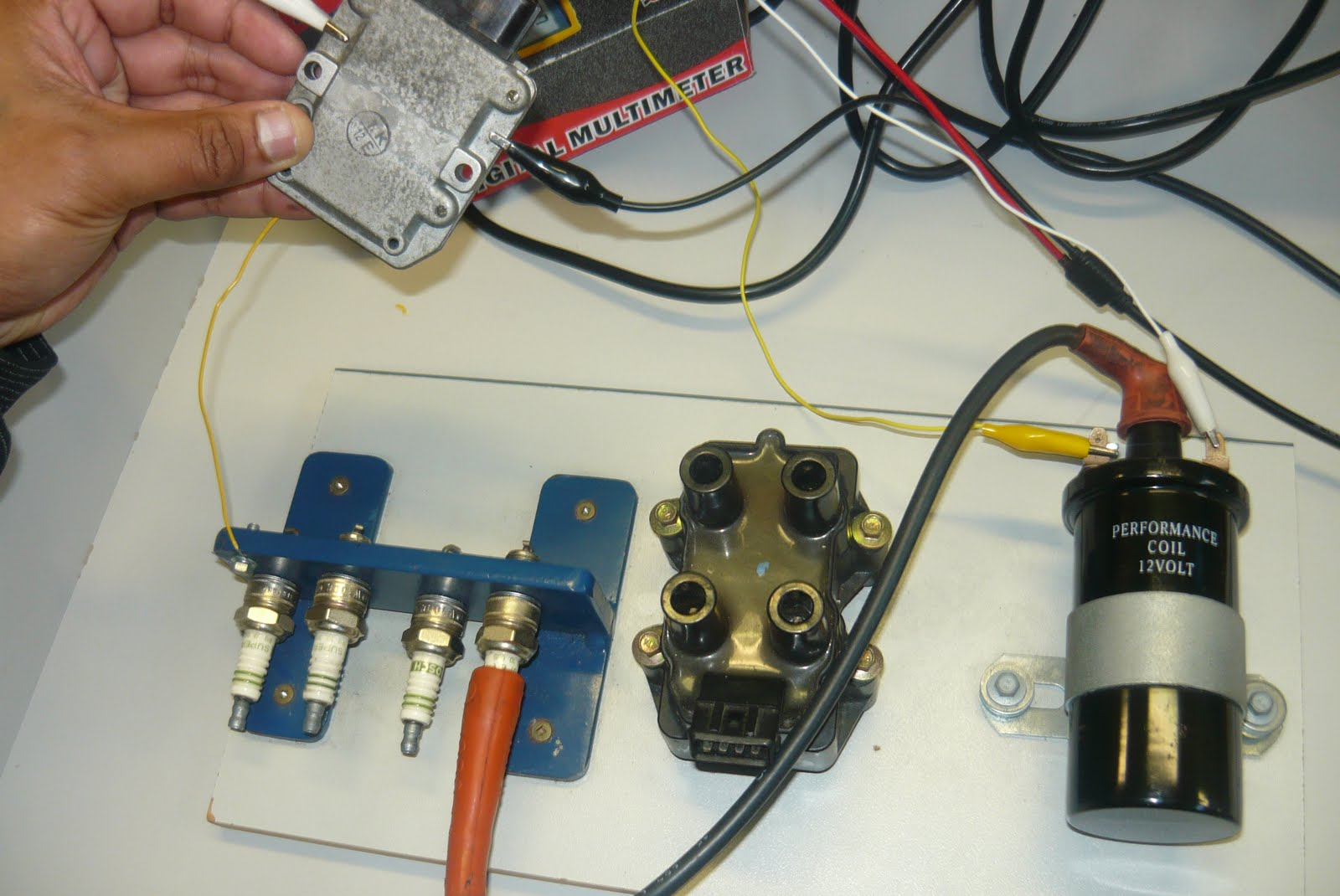 Engine Electronic Control Systems  Wiring Up Ignition Systens