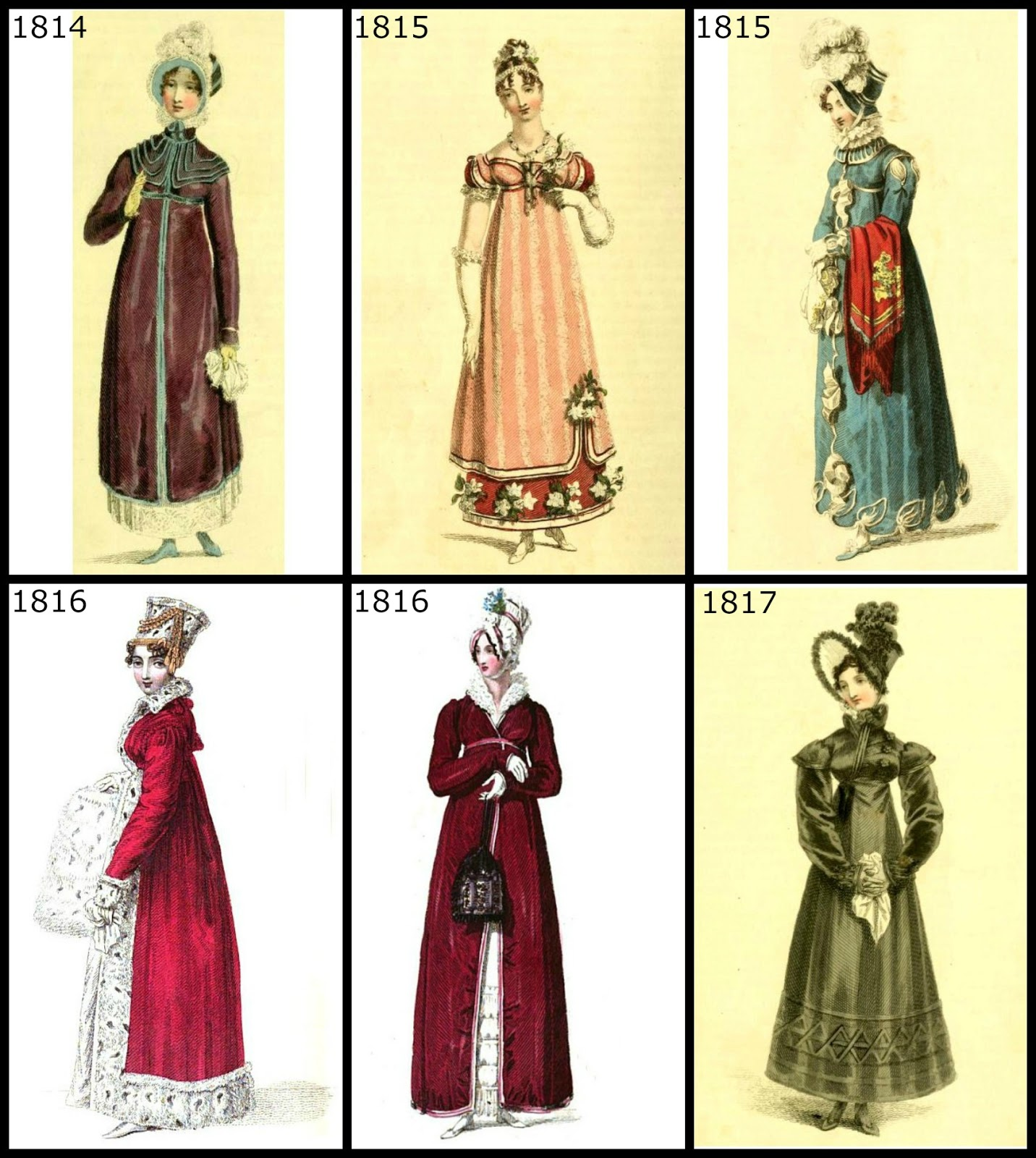 Regency History  Regency Era Fashion For Christmas 1806