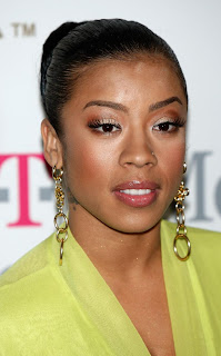 Keyshia Cole Bun Hairstyles