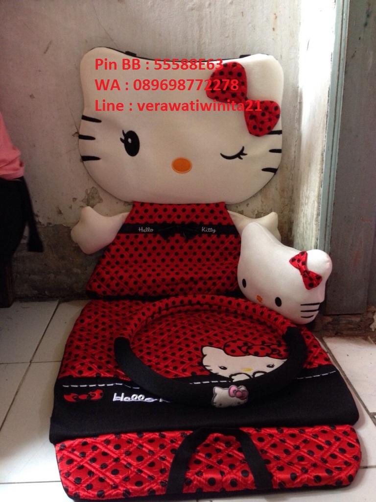 Jok Mobil Honda Jazz Hello Kitty