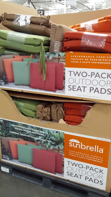 Peak Season Sunbrella Outdoor Seat Pads for a soft surface when you sit