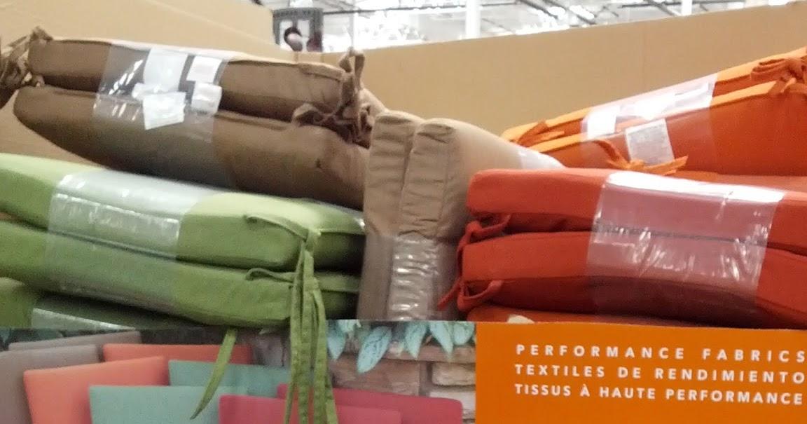 Peak Season Sunbrella Outdoor Seat Pads 2 Pack Costco Weekender