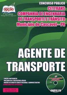 Novo Concurso CETTRANS / PR AGENTE DE TRÂNSITO 2015