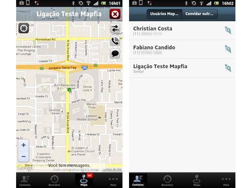 Mapfia localiza usuários em chamadas gratuitas