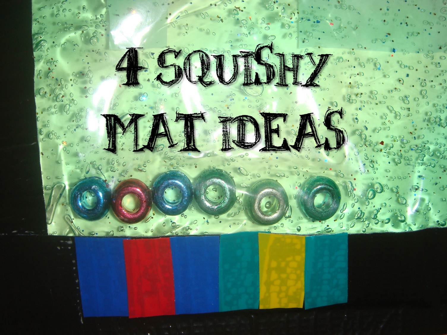 Making boys men 4 squishy mat ideas for Squishy ideas