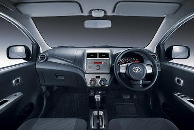 Interior Astra Toyota Agya - Daihatsu Ayla