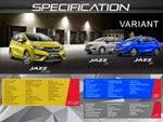 Spesifikasi Mobil Honda Jazz