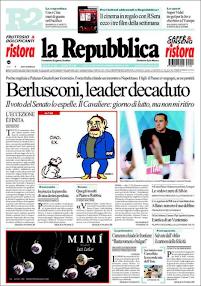La prima pagina del 28 novembre 2013