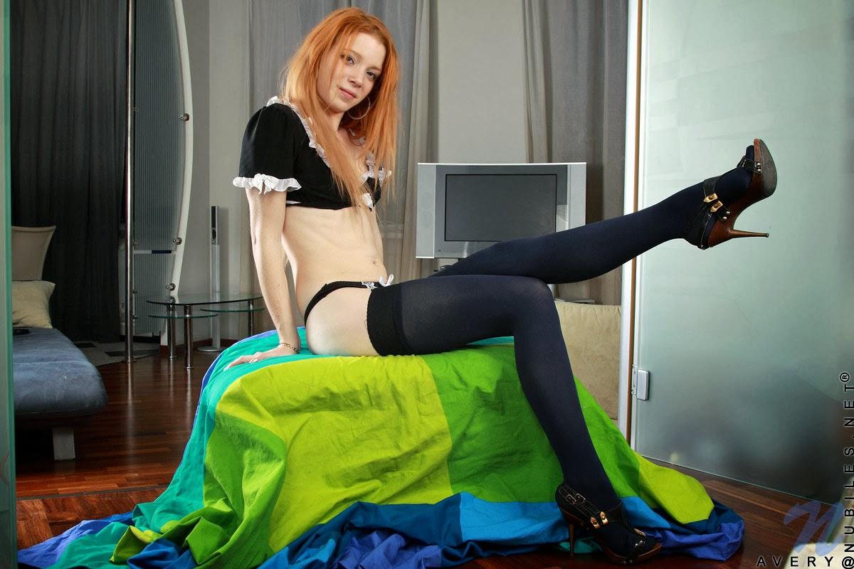 Avery, Redhead, Teen Model