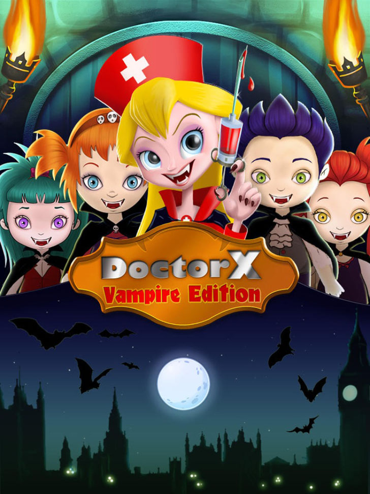 Doctor X: Vampire Edition App iTunes App By Kids Fun Club by TabTale - FreeApps.ws