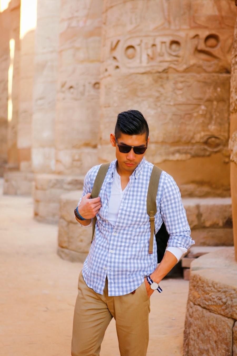 Levitate Style - Luxor, Egypt, Karnack Temple