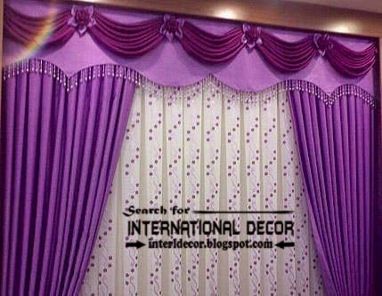 Light Purple Curtains And Drapes, Lilac Curtains, Luxury Purple Curtain  Valance