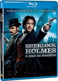 Filme Poster Sherlock Holmes - O Jogo de Sombras BDRip XviD Dual Audio &amp; RMVB Dublado