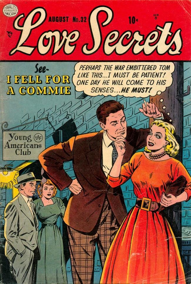 Love Secrets, cubierta del cómic