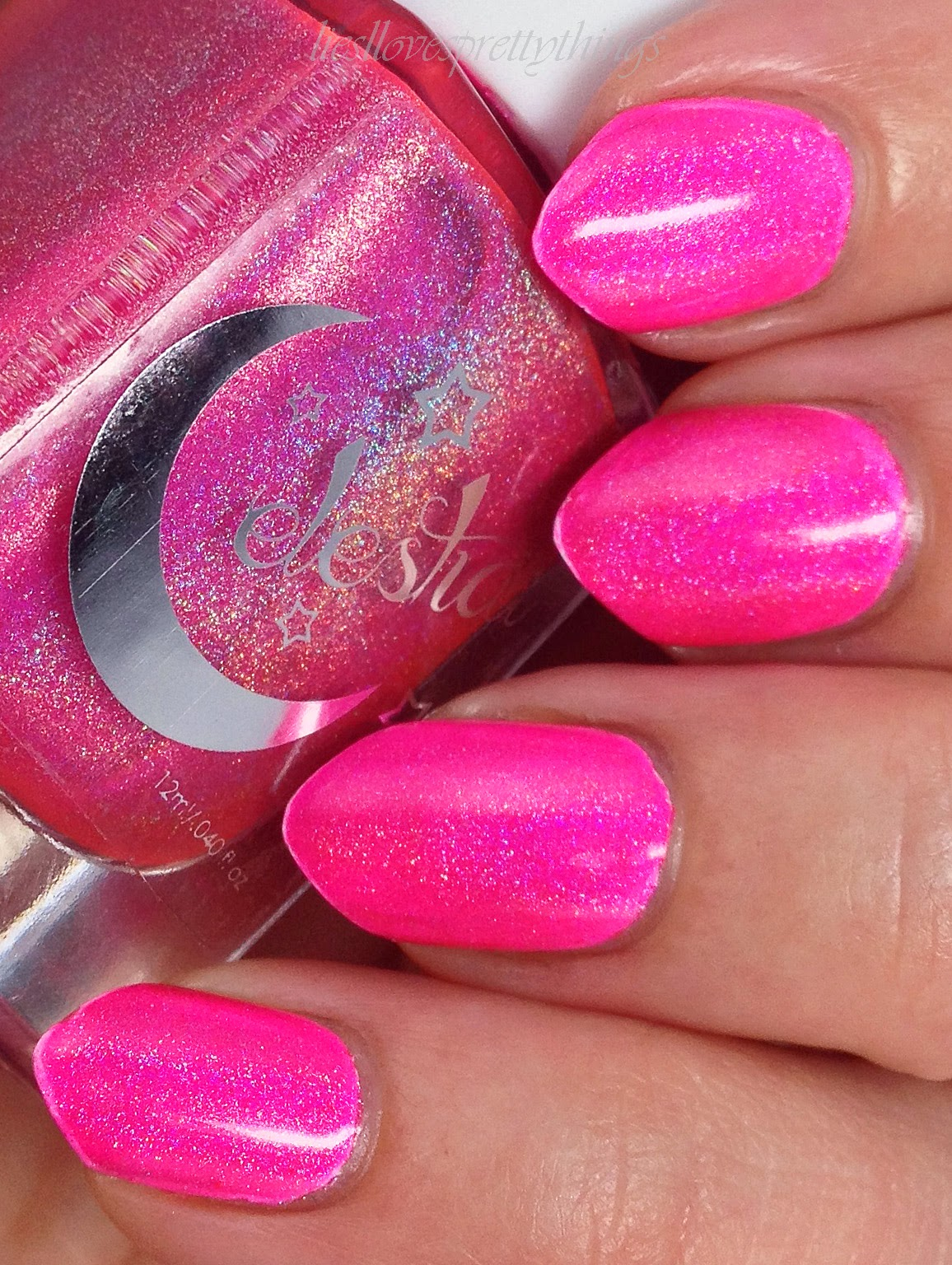 Celestial Cosmetics Merge-- The Electric You Collection, Summer 2014 swatch and review