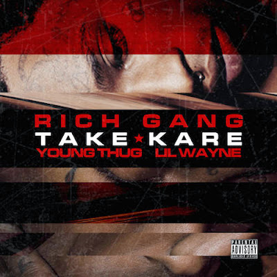 portada cover de take kare lil wayne young thug rich gang 2 disco album