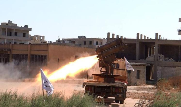 Mujahidin Islam Suriah Bombardir Desa Syiah yang Terkepung