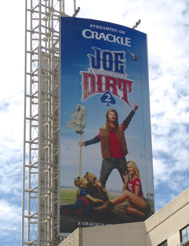 Joe Dirt 2 Beautiful Loser movie billboard