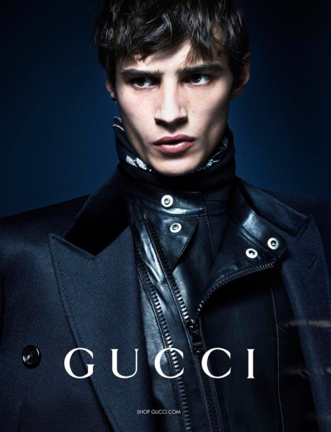 Adrien Sahores by Mert & Marcus for Gucci