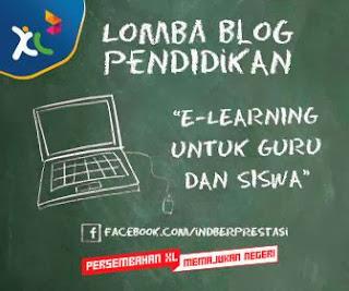 Lomba Blog Pendidikan XL Axiata