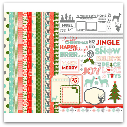 Stampin' Up! Jingle And Joy Kit Digital Download