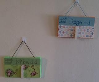 School paper hanger